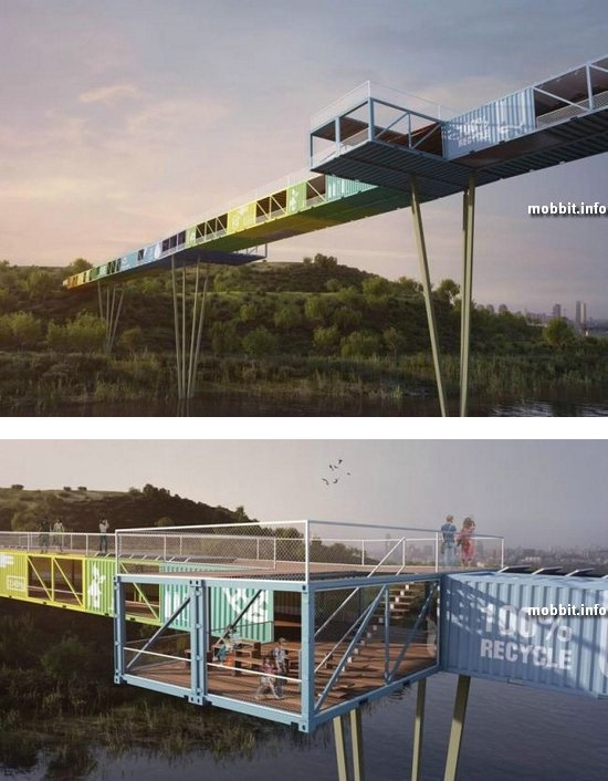 ECOntainer bridge