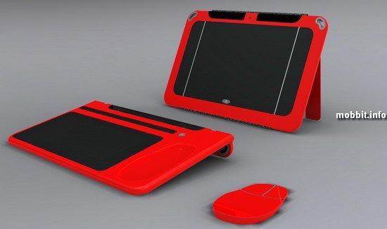 Смартбук, который нужно разобрать, чтобы воспользоваться функциями мыши и клавиатуры