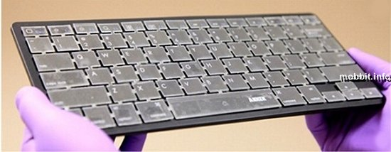 Клавиатура, способная распознавать «почерк»