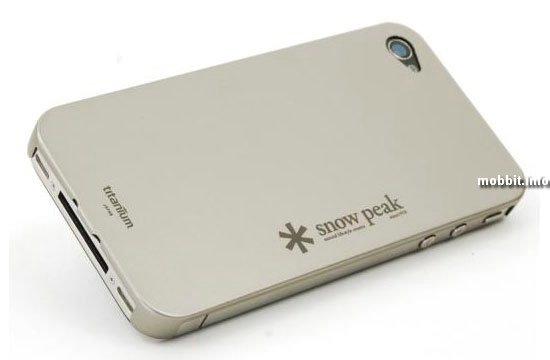 Титановый корпус для iPhone 4