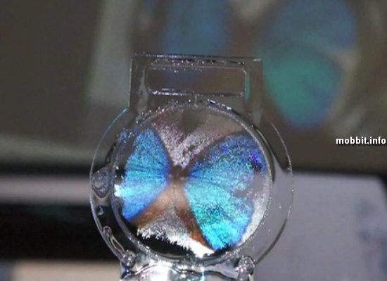дисплей из мыльного пузыря