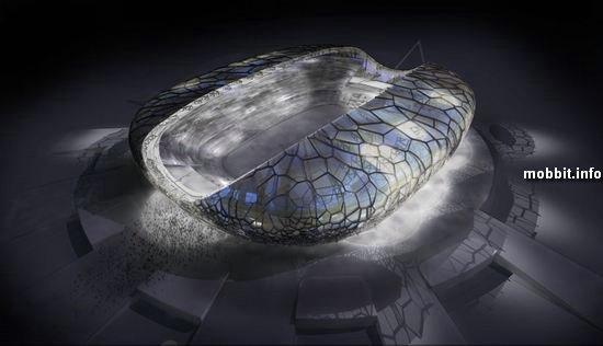 Стадион для Зимних Олимпийских игр в Сочи