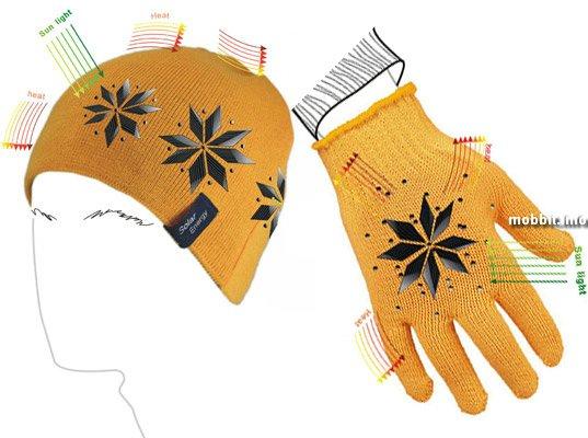 Шапка и перчатки с подогревом