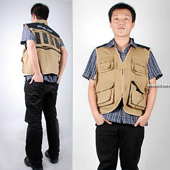 Куртка+зарядное устройство