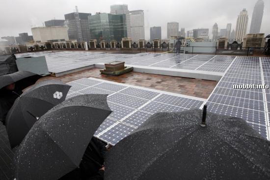 Solar Cell Rain