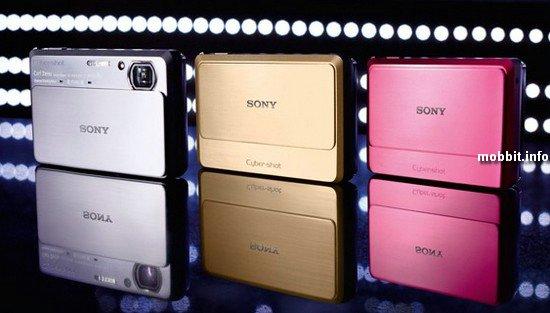 Sony Cyber-shot T99, TX9 и WX5