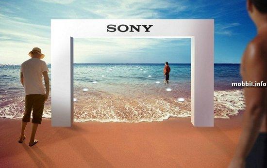 Первый в мире подводный магазин Sony