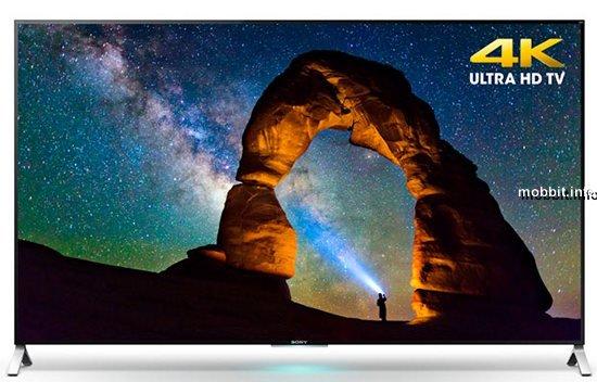 Супертонкие 4K-телевизоры Sony на Android