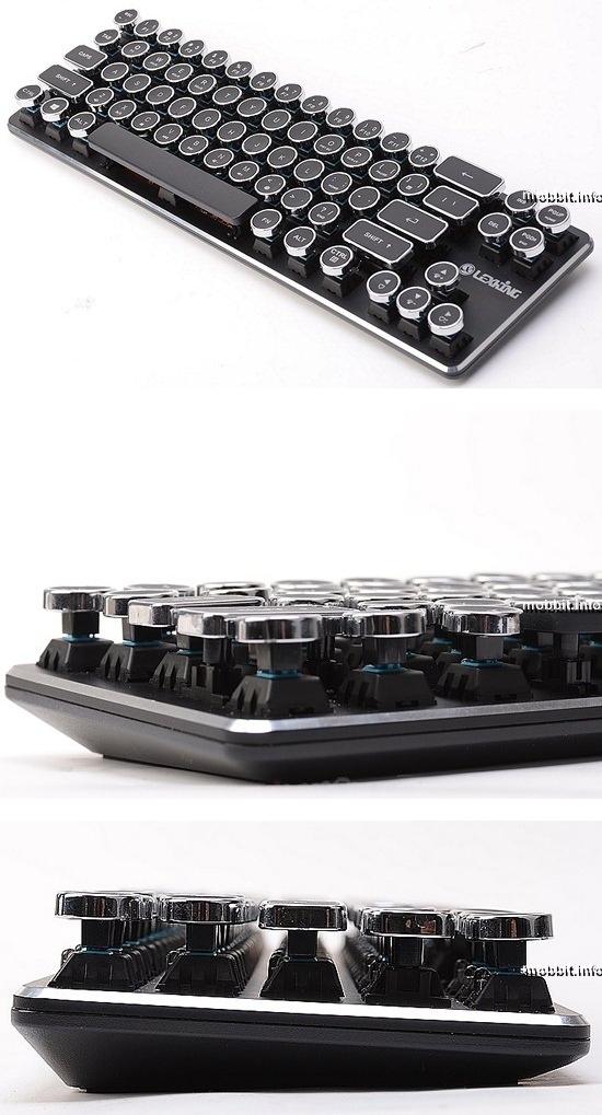 Первая в мире серийная стимпанк-клавиатура