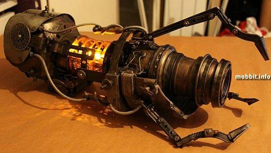 Стимпанк-оружие из игры Portal