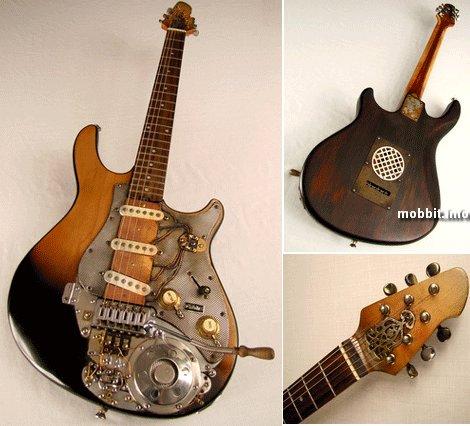 Стимпанк-гитары от Tony Cochran