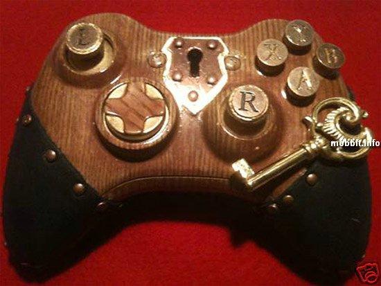 Xbox 360 в стиле стимпанк