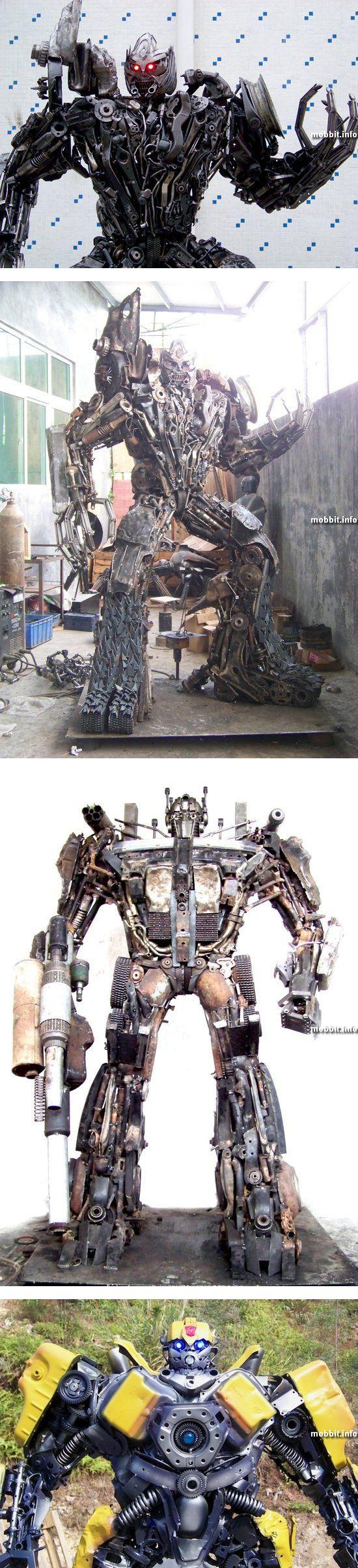 Трансформеры из металлолома