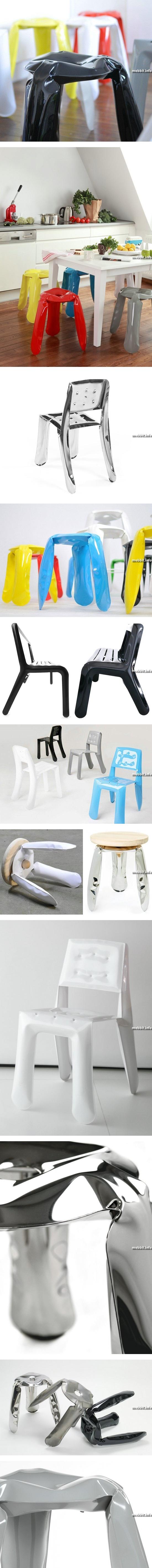 Надувная металлическая мебель