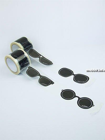 Солнцезащитные очки из липкой ленты