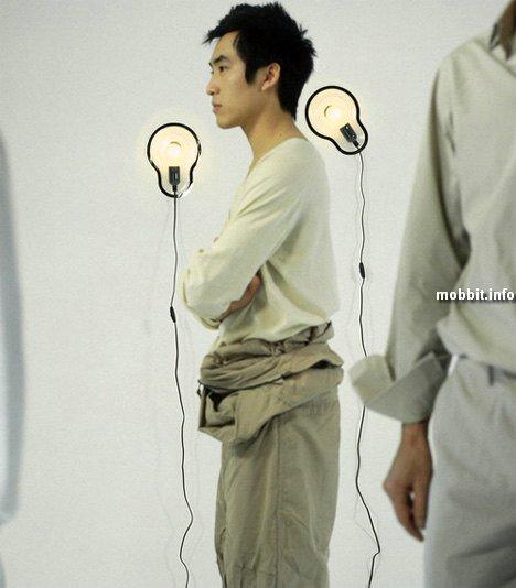 Светильники-стикеры