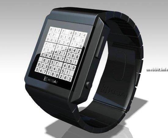 Новые часы Tokyoflash с судоку на циферблате
