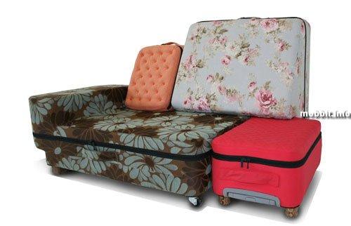 Чемоданы-диван