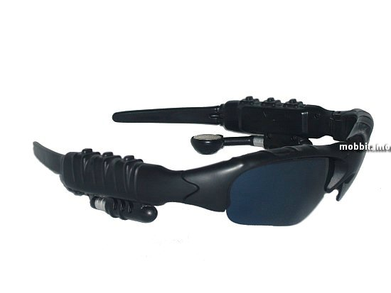 sunglasses + MP3