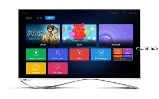 LeEco Super3 X TV