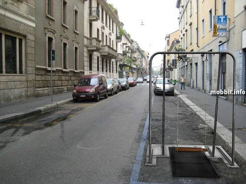 Парковочный барьер + качели для детей