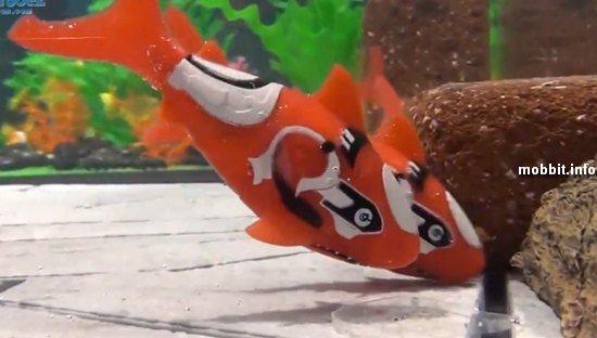 рыбки-роботы Robofish