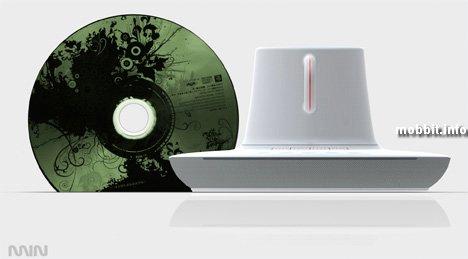 Концептуальный CD-плеер