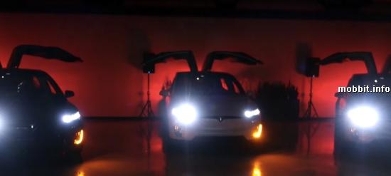 Tesla Model X Show