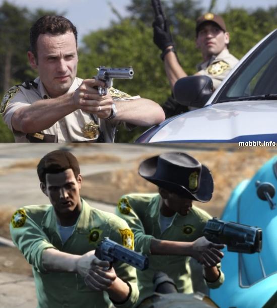 The Walking Dead Fallout 4