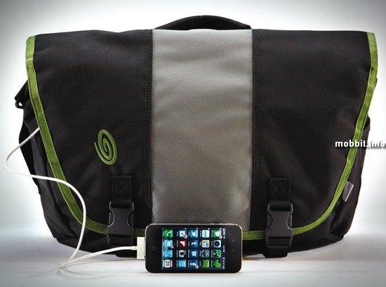 Новые сумки Timbuk2 со встроенным зарядным устройством