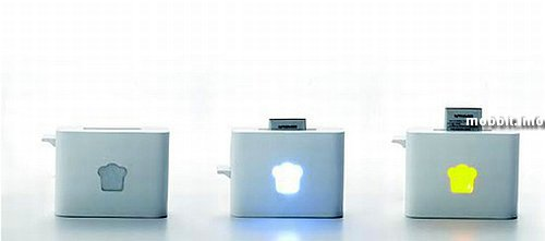 зарядное устройство в виде тостера