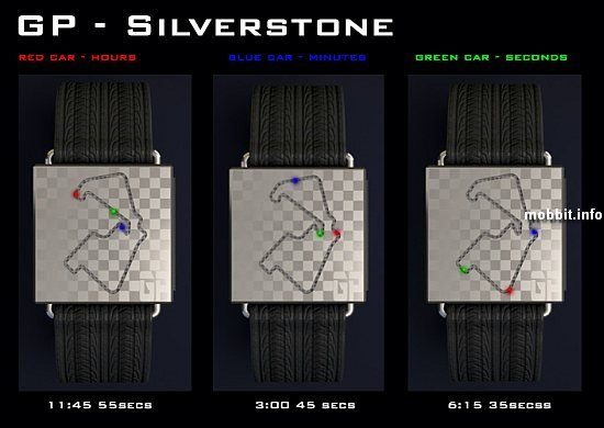 часы для любителей Formula 1