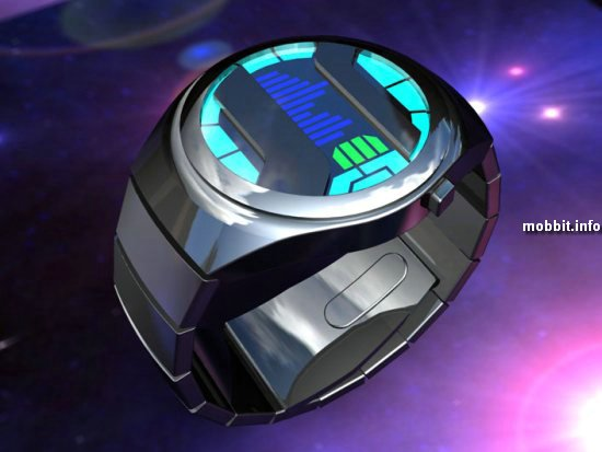 Концептуальные часы от Tokyoflash