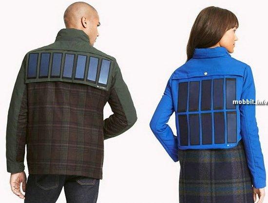 Куртки с солнечными панелями от Tommy Hilfiger