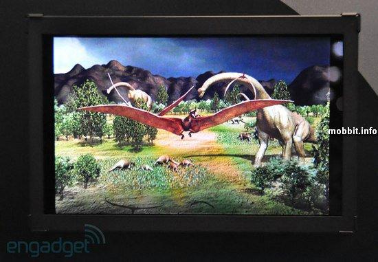 3D-дисплей для планшетов от Toshiba, не требующий очков