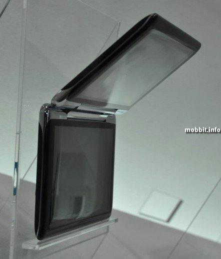 Концептуальные смартфоны Toshiba