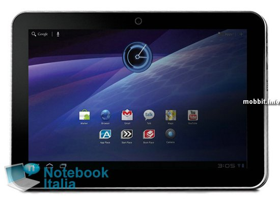 ����� ������������ Android-������� �� Toshiba