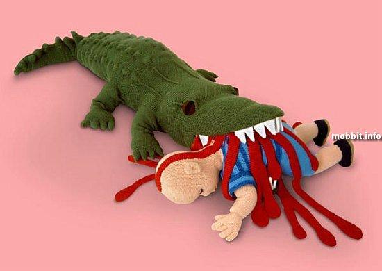Жутковатые игрушки