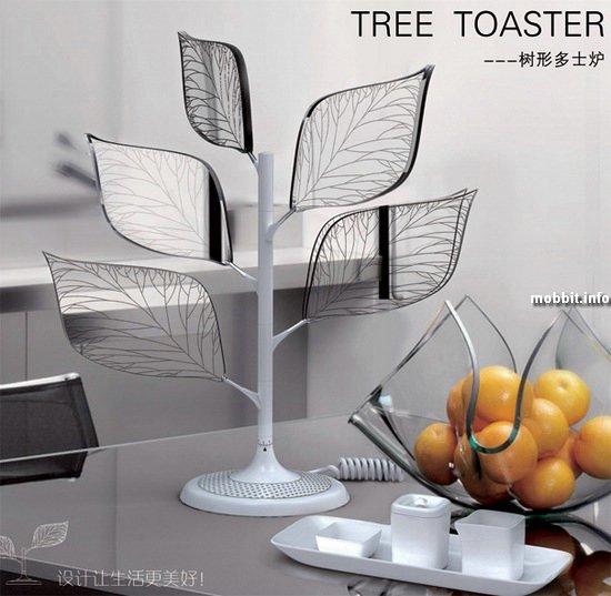 Деревце-тостер