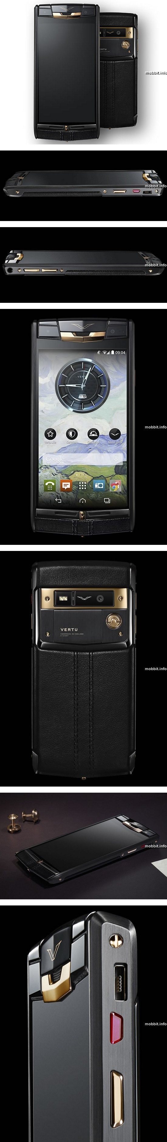 Vertu SignatureTouch Jet Red Gold