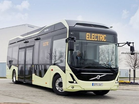 На шведские дороги выезжают электробусы Volvo