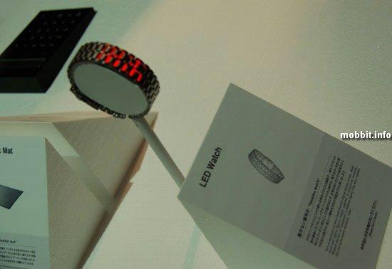 LED-часы без циферблат