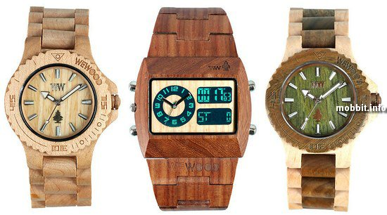 Часы WeWood