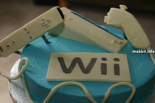Торты в виде Nintendo Wii