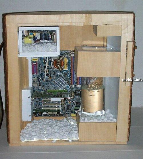 компьютер в дереве