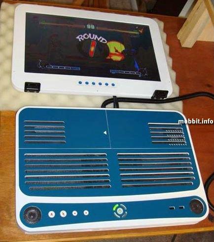 Xbox 360 в виде ноутбука