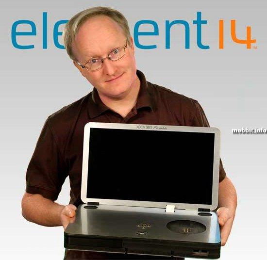 Ноутбук из консоли Xbox 360