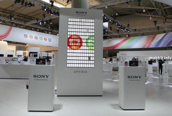 Видеостена из 196 смартфонов Sony Xperia ZL