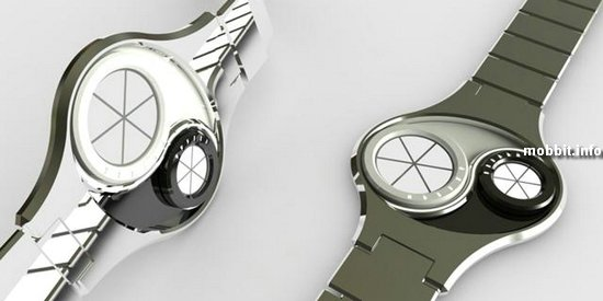 Часы Инь-Ян от TokyoFlash