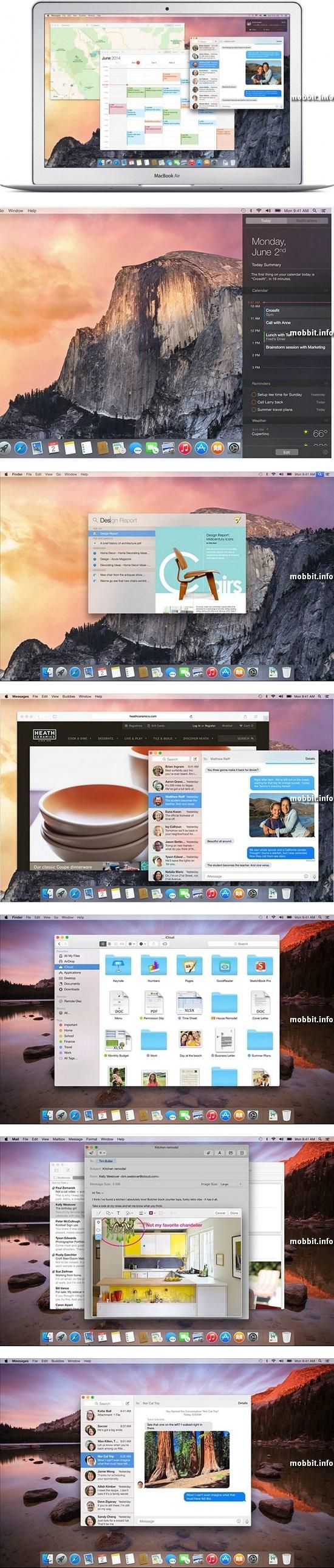 Apple OS X 10.10 Yosemite